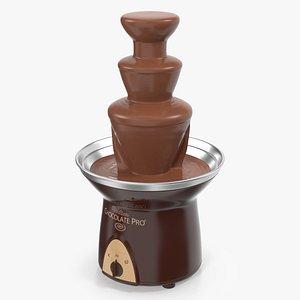 chocolate fountain wilton pro 3D model