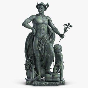 sculpture commerce arts 1 3D model
