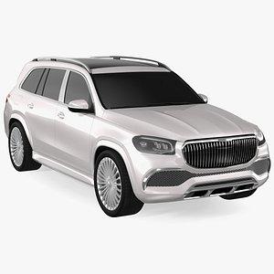 3D Luxury SUV Simple Interior