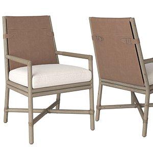 3D bercut armchair chair