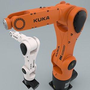 kuka robot kr-6 r900 3D model