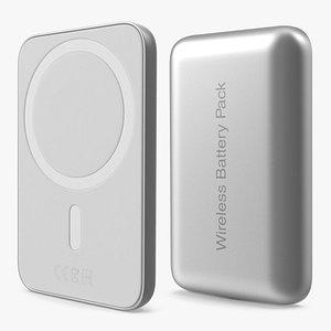 Wireless Charging Battery 3D model