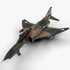 3D model mcdonnell douglas f-4