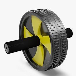 3D abs wheel roller