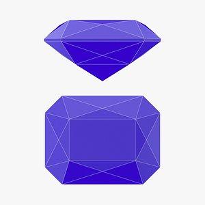 Scissor Gemstone - 3D Printable model