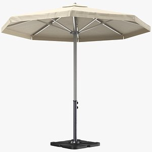 umbrella patio 3D model