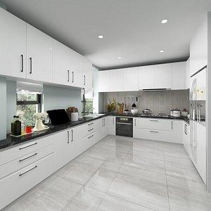 Full Kitchen Interior model