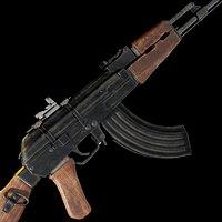 AK 47 model 3D model