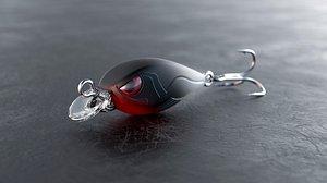 3D fishing bait