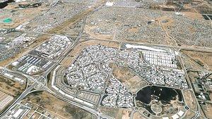 cityscape al khawaneej dubai 3D model