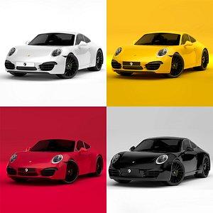 Porsche 911 Collection 3D model