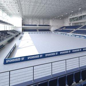 3D Indoor Base Arena 2 model