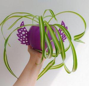 3D model Angel wings planter