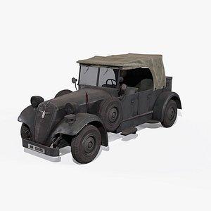 adler car - 3D model