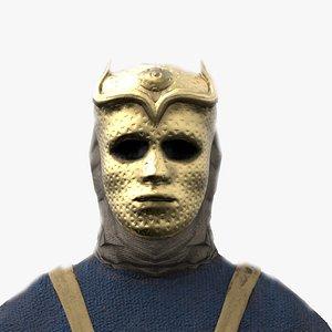 Son of Harpy costume 3D model