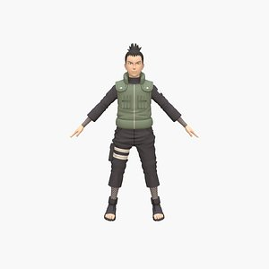 Shikamaru 3D model
