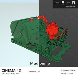 mud pum 3D