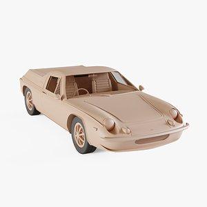 1973 Lotus Europa model