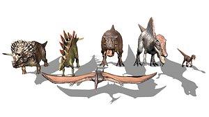 dinosaur jurassic 3D model