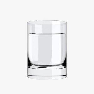 3D model Water Glass 2