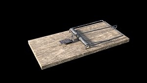 Mousetrap with Animation 3D