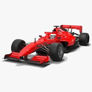 3D Generic Formula Race Car