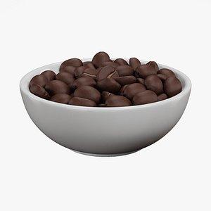 3D Coffee in Bowl model