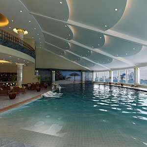 3D model Indoor Hotel Pool - Recreational Facility - Spa