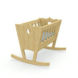 Rocking Cradle 3D model