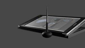 Tableta Grafica Huion 3D model