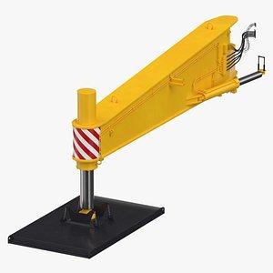 3D crane outrigger large 02