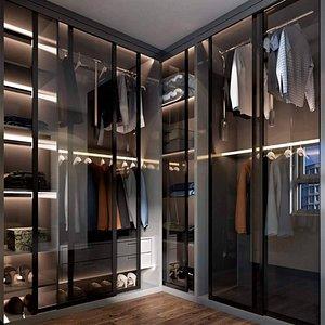 complete Apartment Interior 3D Model model