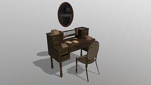 Writing Desk 3D model