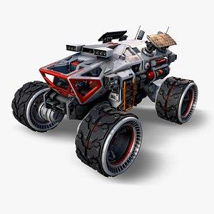 Exoplanet Rover model