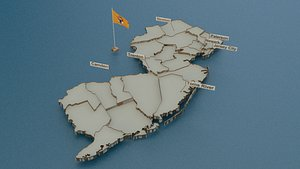 new state cities 3D model
