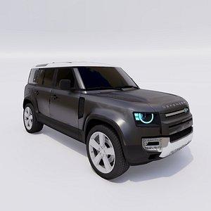 3D Land Rover Defender 110 2021 model