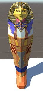 3D model Mummy Tomb