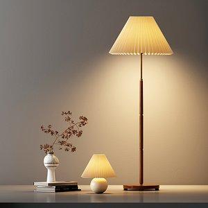 3D Delicate floor lamp