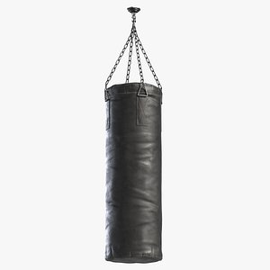 3D punching bag heavy model