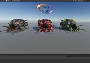 3D monster pharynx