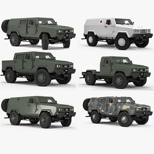 3D model Vehicle collection