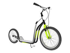 Scooter Model 3D model