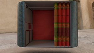 Photo booth 3D model