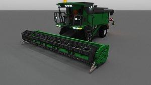3D voxel combine-harvester vox