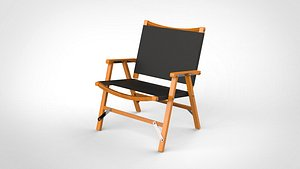 3D chair camp model