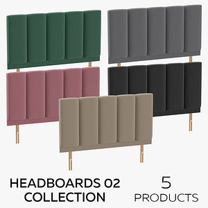 Headboards 02 Collection model