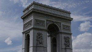 Arc de Triomphe Paris - photogrammetry 3D model