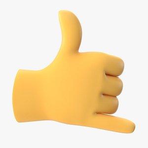 Gesture Emoji Collection 3D