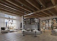 Library Reading Room Bookstore Xinhua Bookstore Bookbar Bookshelf University Library Library
