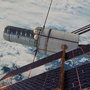 3D satelitte nasa hubble